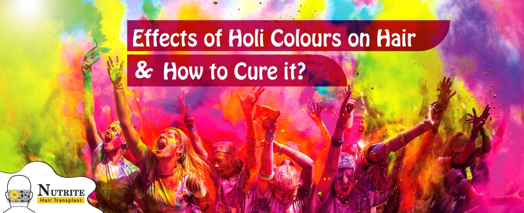 Effects of Holi Colours on Hair
